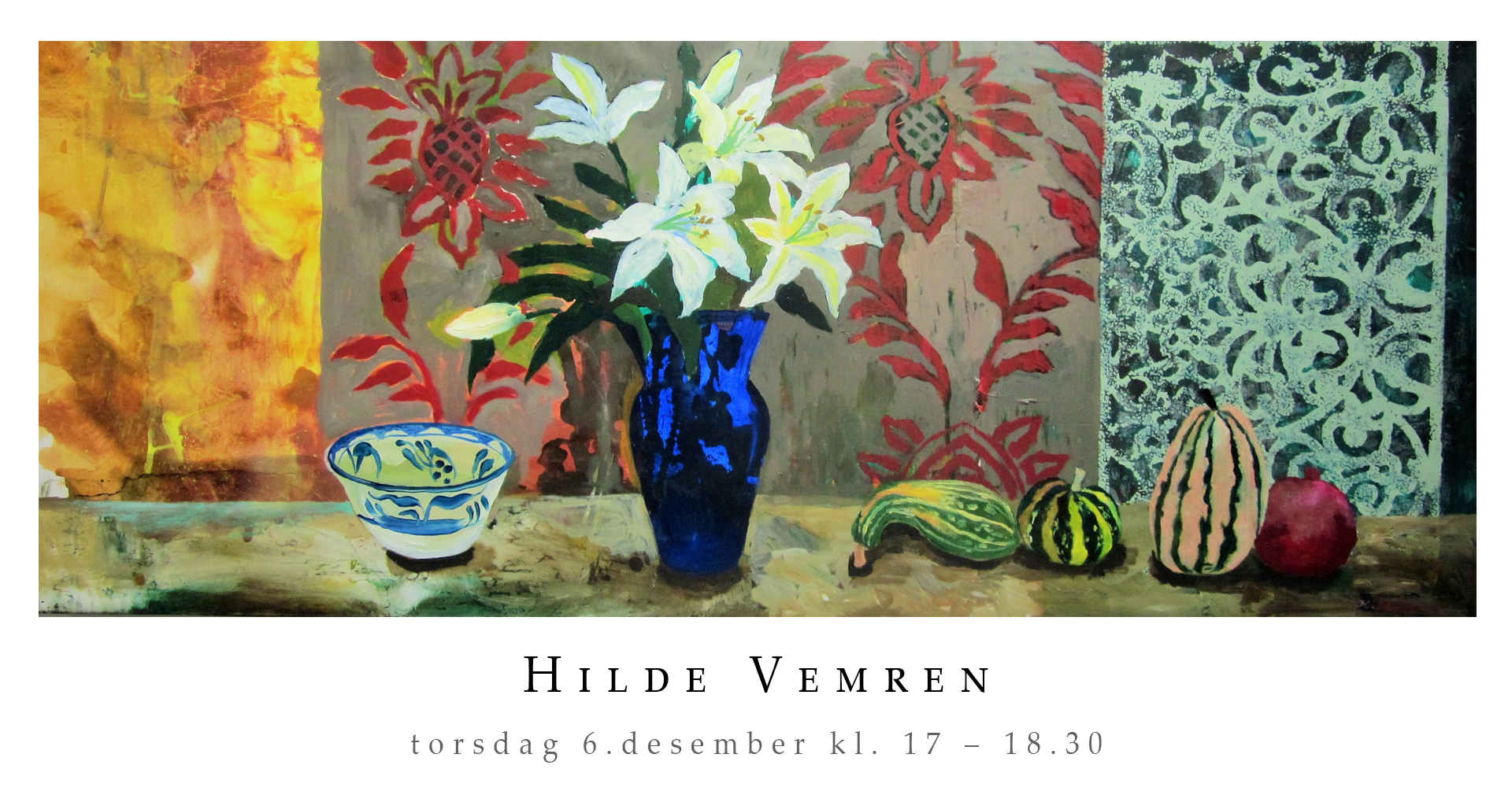 Vernissage Hilde Vemren