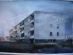 Lars Lerin - Bolig - akvarell