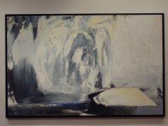 Kurt Edvin Blix Hansen - Frostpoesi - akryl på lerret