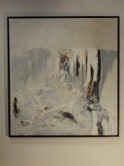 Kurt Edvin Blix Hansen - Nærvær av frost I - akryl på lerret