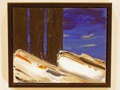 Kurt Edvin Blix Hansen - Natt - akryl på lerret
