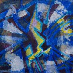 Johanne Getz - I - akryl på lerret