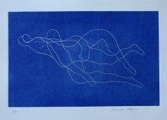 Knut Steen - Sammen - litografi