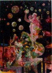 Peter Esdaile - Genesis - akryl på lerret