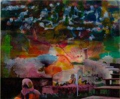 Peter Esdaile - Ghoststories - akryl på lerret