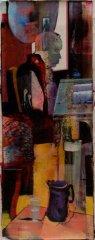 Peter Esdaile - Portal - akryl på lerret