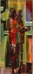 Peter Esdaile - The Gral - akryl på lerret