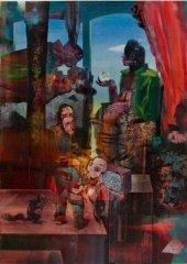 Peter Esdaile - The Original - akryl på lerret