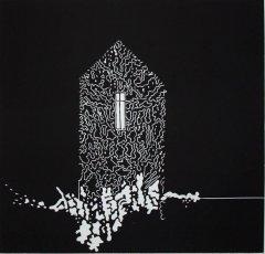 Eva Laila Hilsen - Mysteryhouse II - lino
