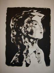 Håkon Bleken - Thea I - litografi