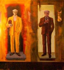 Peter Esdaile - 01 - akryl på lerret