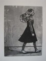 Giske Sigmundstad - Jente sort hvitt