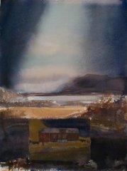 Lars Lerin - I - akvarell