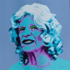 Kjartan Slettemark - Selfportrait as Marilyn