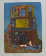Michael Ashford - Fax -litografi