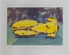 Nico Widerberg - Kropp - litografi
