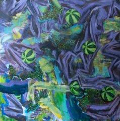 Johanne Getz - akryl på lerret