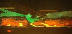 Magne Rygh - Operapassasje - Acryl på lerret