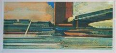 Magne Rygh - Varm asfalt - Litografi