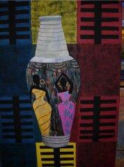 Hilde Vemren - På teppet - maleri