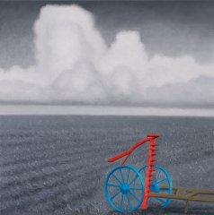 Sverre Koren Bjertnæs - Markens grøde - Maleri